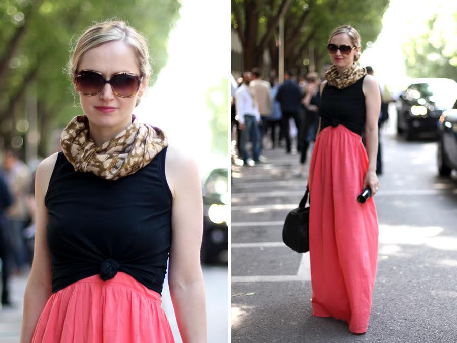street tonic crop top maxi dress
