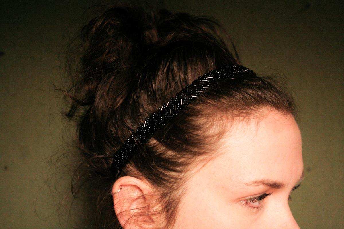 Banded Charitable Headbands - Black Luxe