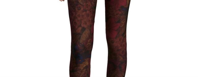 Dex Wood Print Leggings