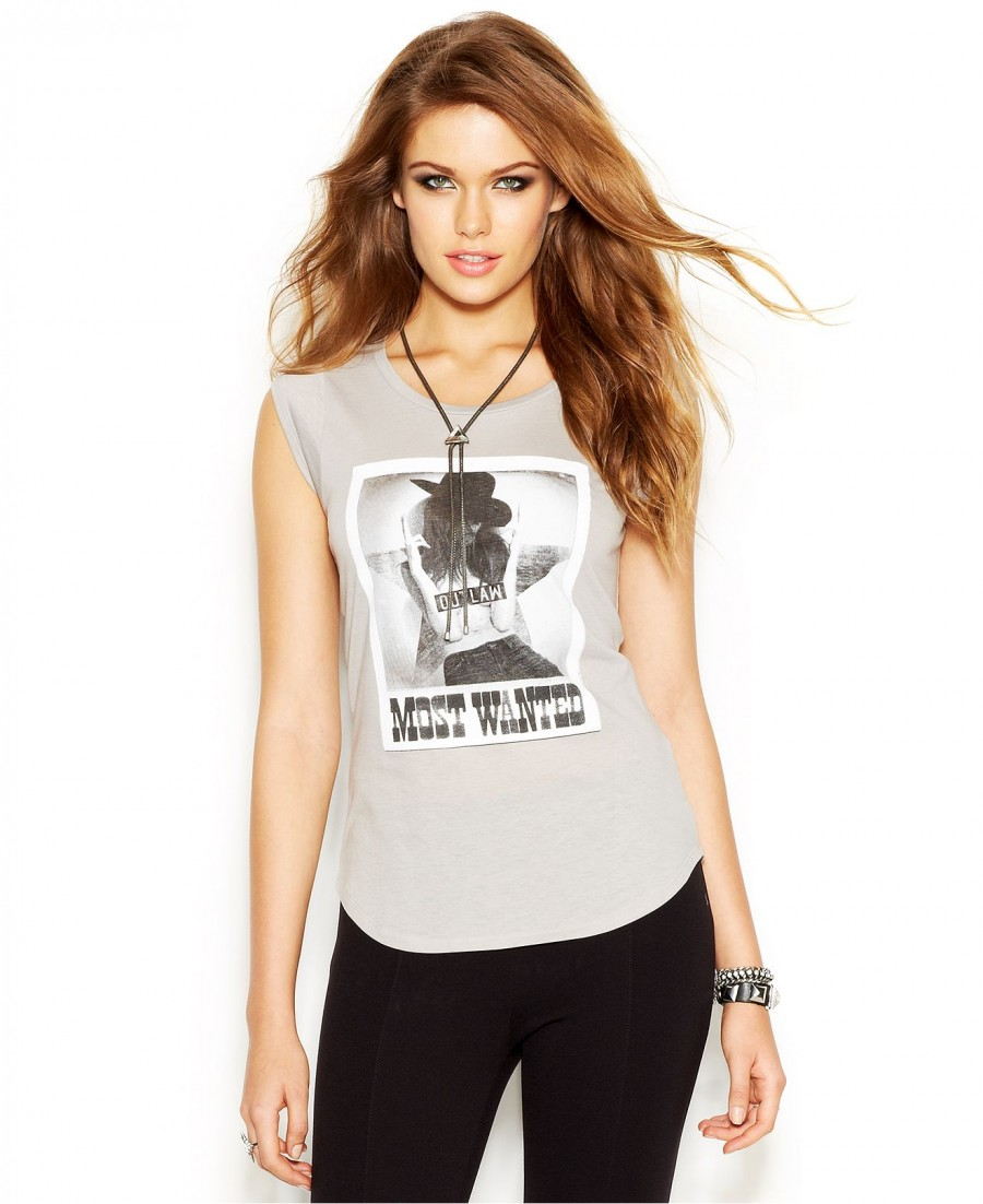 Most Wanted Outlaw Guess Tee