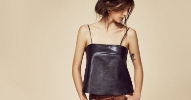 Veda FW 2014 Lyell Leather Camisole