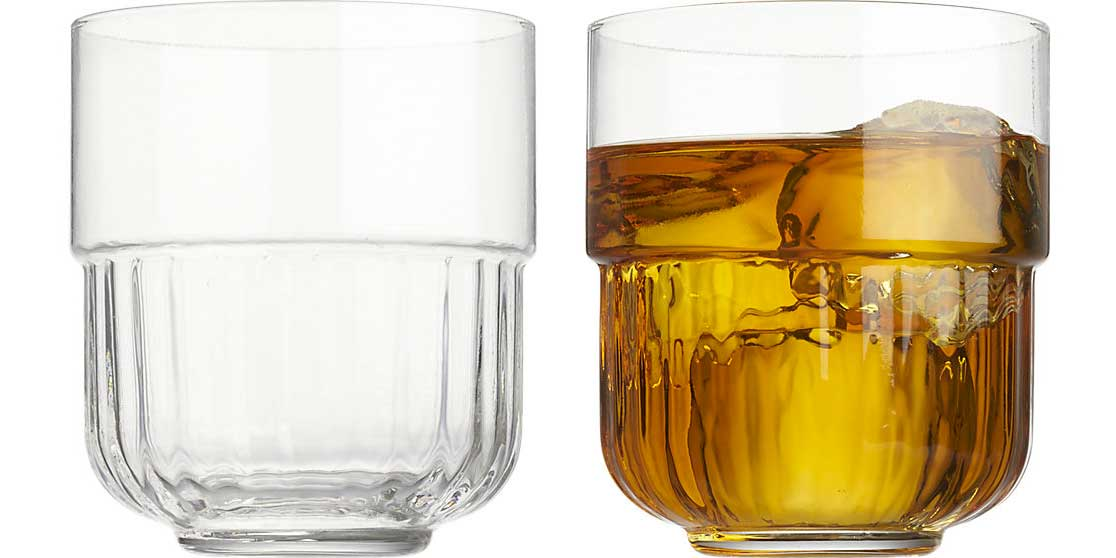 CB2 Speakeasy Cocktail Glass