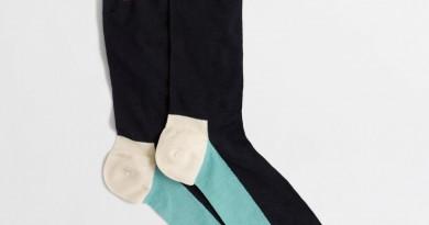 J Crew Factory Color Block Socks