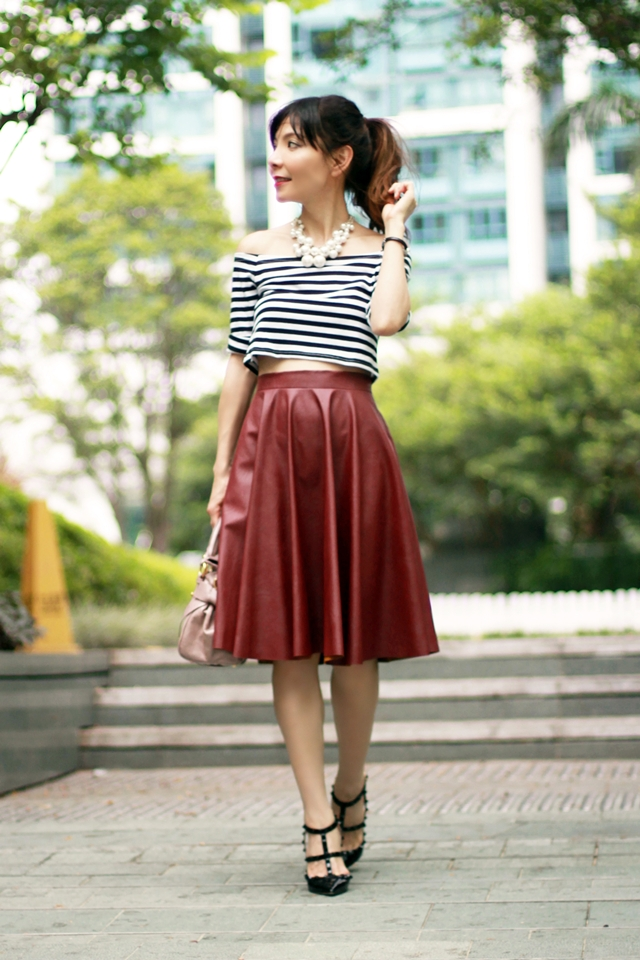 Having never owned any kind of leather skirt, this... / Live Broke ...