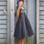 How To Wear: The Leather Midi Skirt