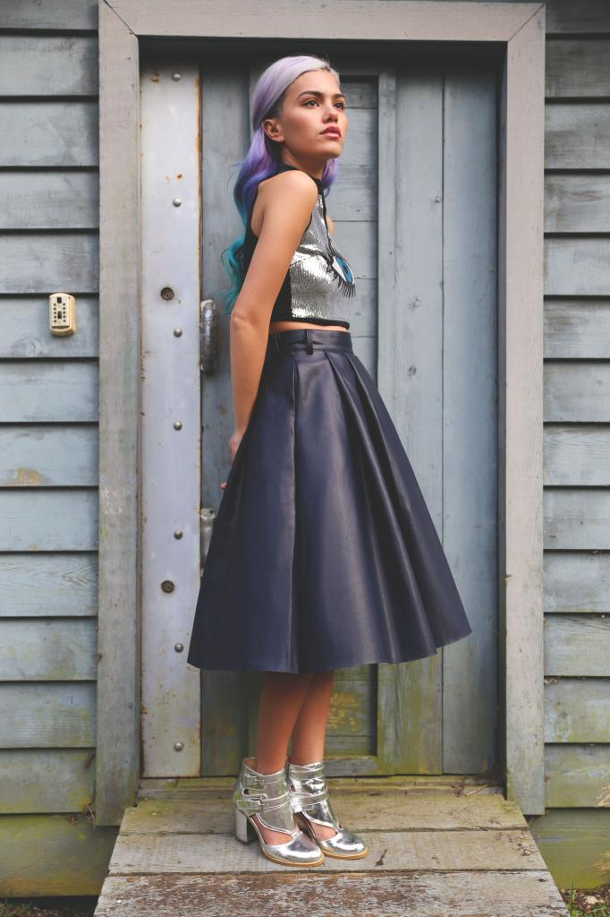 How To Wear: The Leather Midi Skirt • Broke and Beautiful