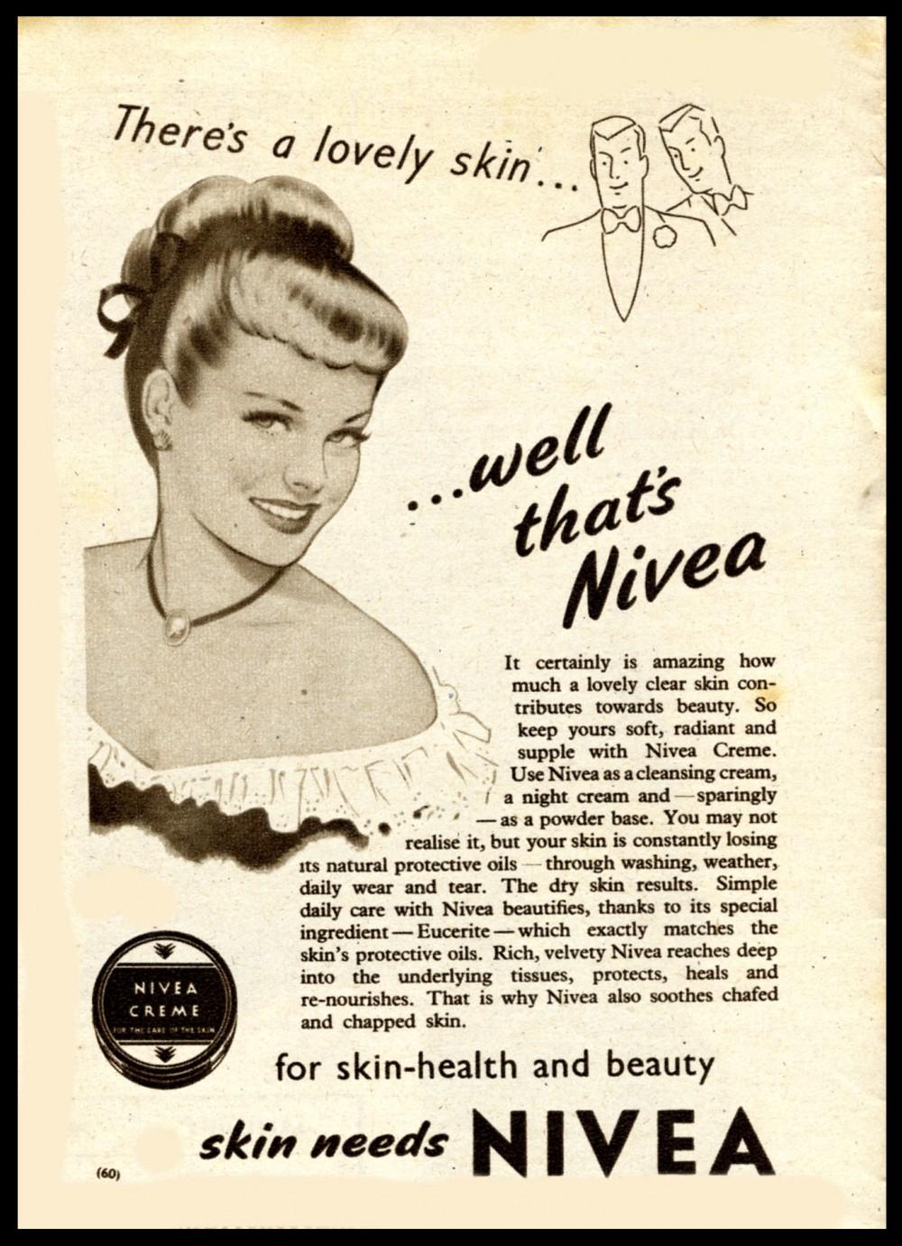 NIVEA ad from 1950