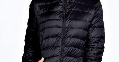 Boohoo Tyra Black Down Puffer Coat