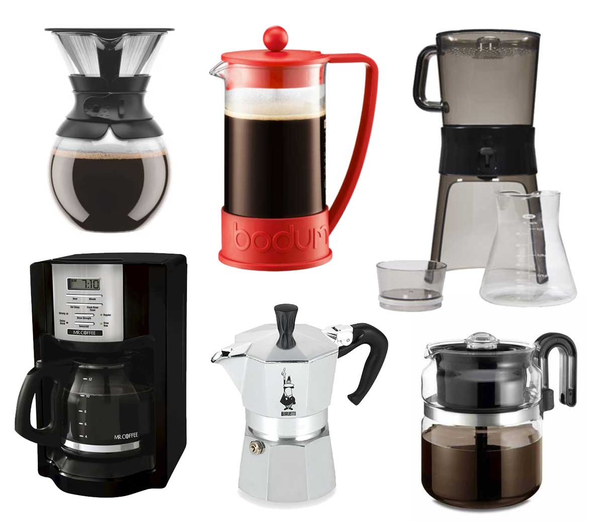Coffee Pots and Coffee Makers
