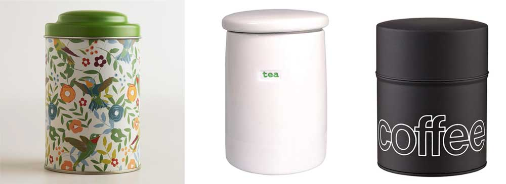 Coffee & Tea Tins