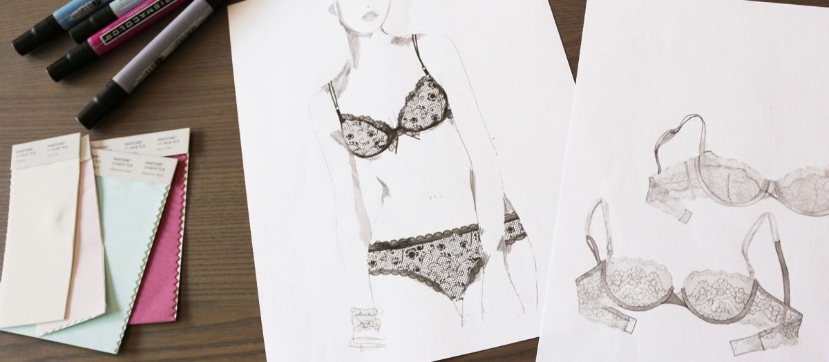 ThirdLove Lingerie Sketches