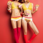 Under $50: Naja Lingerie's Cheeky Panty Sets for Foodies