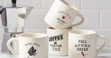 West Elm Coffee Mugs