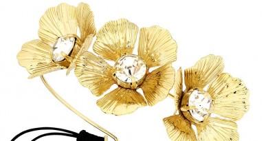 Lydell Golden Flower Cuff