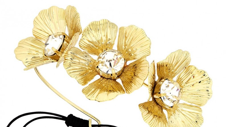 Lydell Golden Flower Cuff
