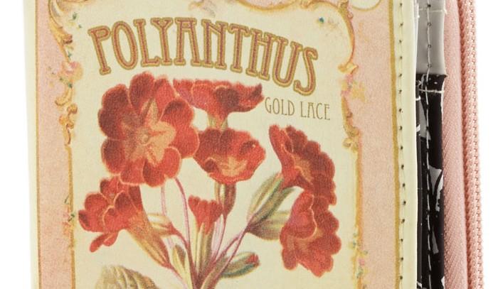 Polyanthus Botanical Wallet