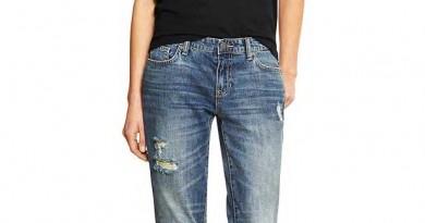 GAP Deconstructed Sexy Boyfriend Jeans