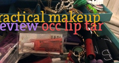 OCC Lip Tar & Face Primer Review