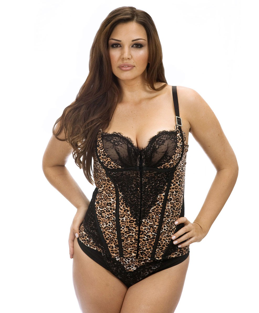 Curvy Couture Animal Attraction Corset