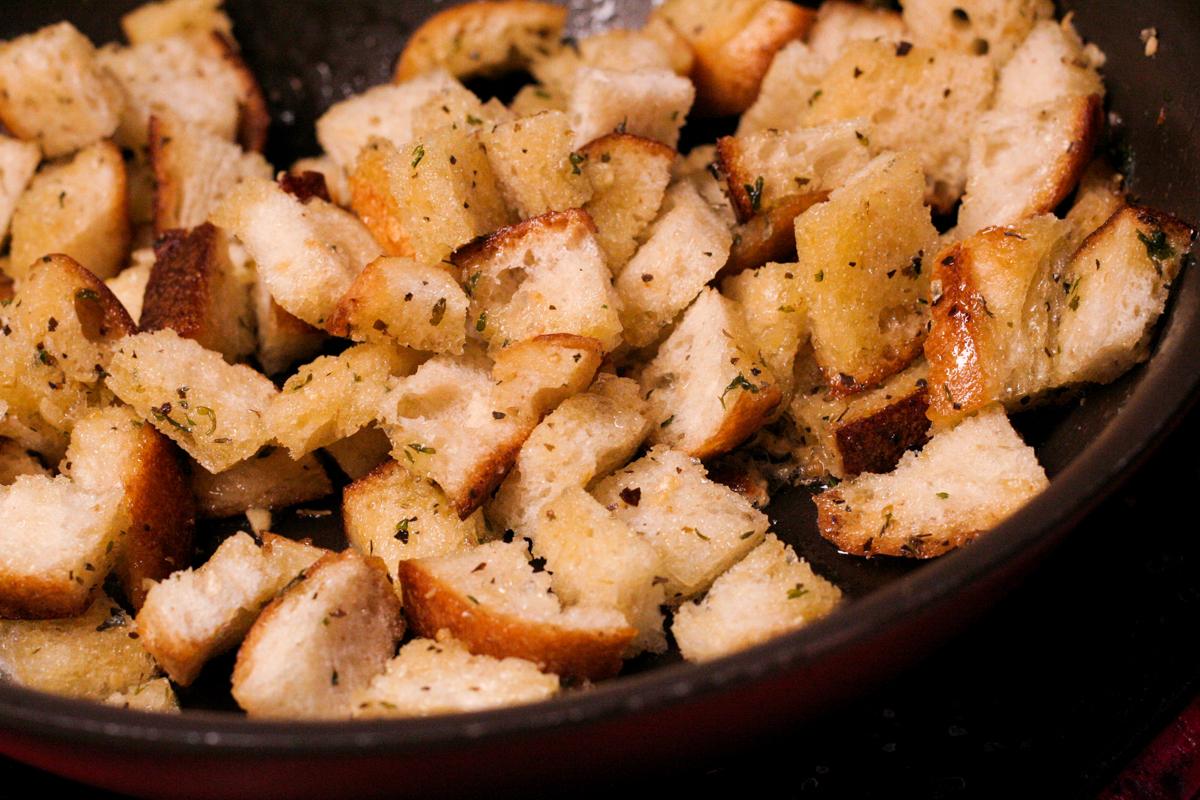 Garlic & Herb Croutons