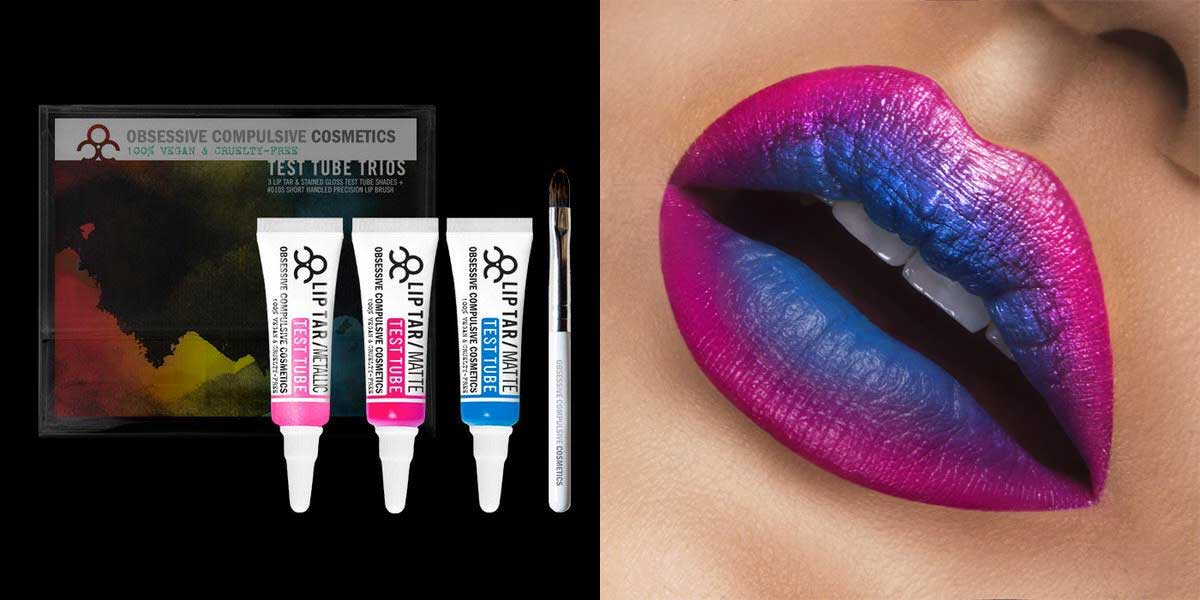OCC Lip Tar Test Tubes in Picadilly Palare