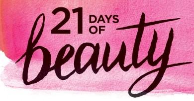 21 days of beauty