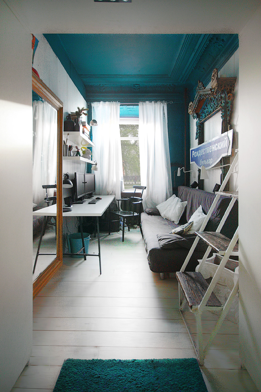 Anton Semenov Blue Ceiling