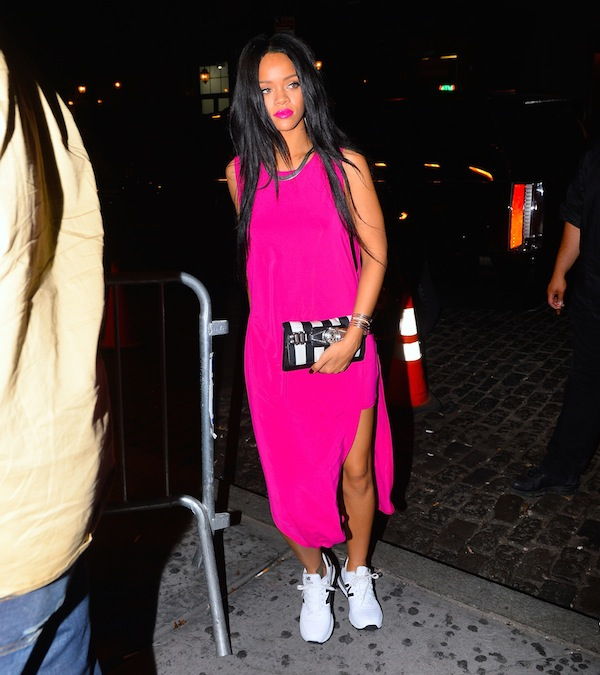 Rihanna and Drake were spotted having a reunion at Griffin late Monday night in NYC