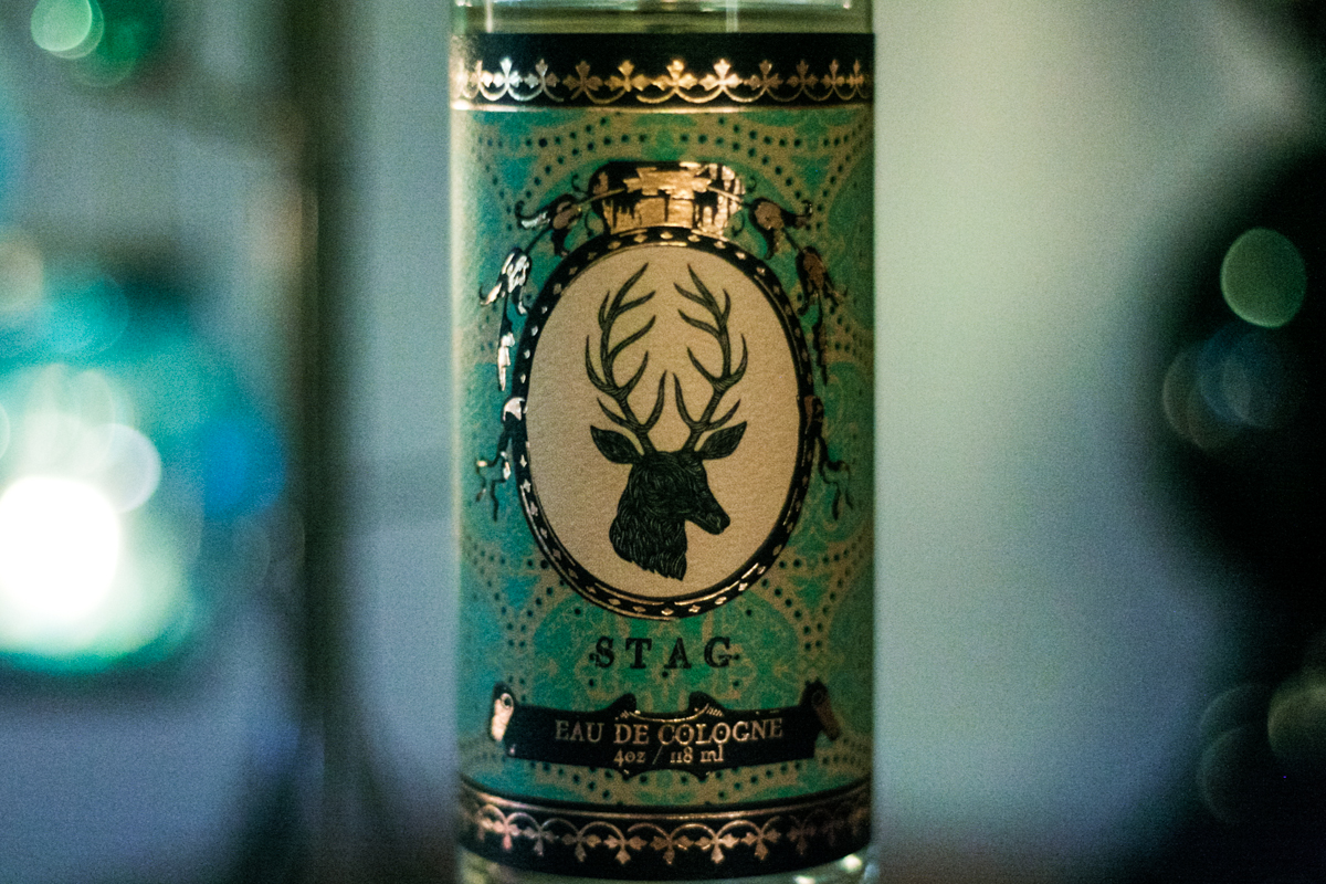 Soap & Paper Factory x Patch NYC Stag Cologne