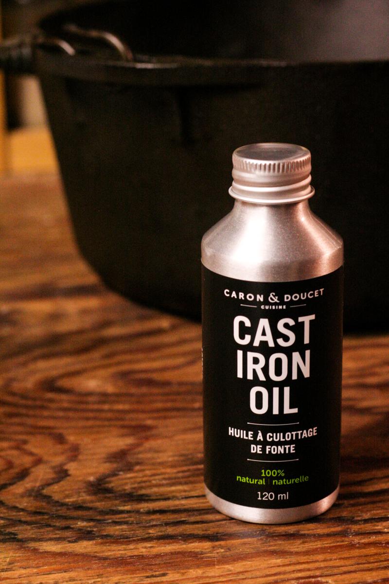 Caron & Doucet Cast Iron Oil