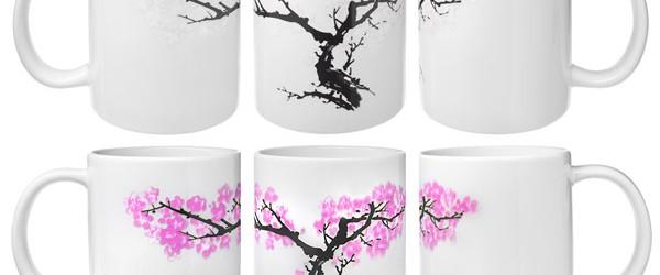 Cherry Blossom Heat Changing Mug