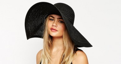 ASOS Oversized Floppy Straw Hat
