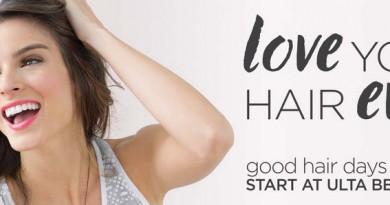 Ulta Love Your Hair Banner