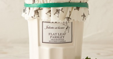 Juliette At Home Flat Leaf Parsley Candle, $24