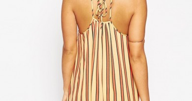 ASOS Tie Back Striped Sundress, $50