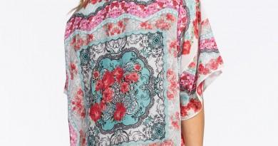 Full Tilt Floral Kimono Jacket