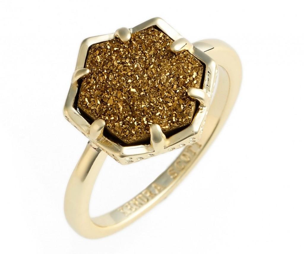 Kendra Scott Kylie Druzy Ring