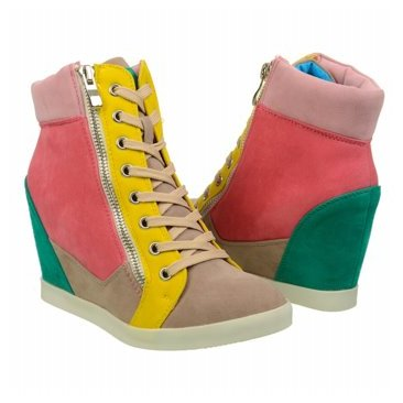 Wanted Highline Wedge Sneakers