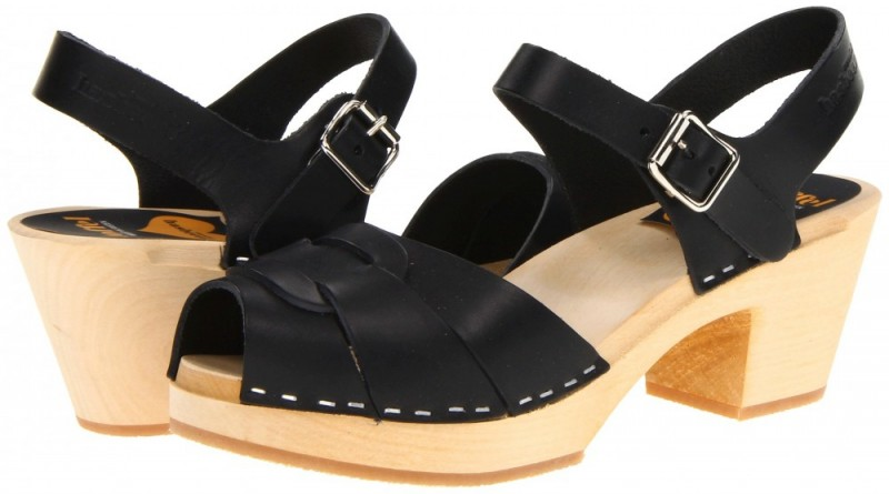 Swedish Hasbeens Pepe Toe Sandals