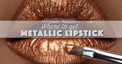 affodable indie metallic lipstick feat