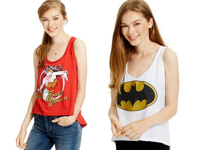 BioWorld Batman & Wonder Woman Tanks