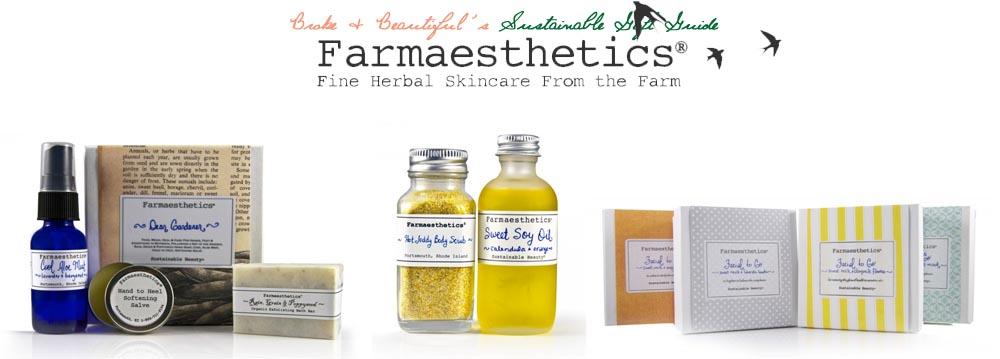 Farmaesthetics Sustainable Holiday Gift Guide
