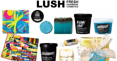 LUSH Cosmetics Sustainable Holiday Gift Guide