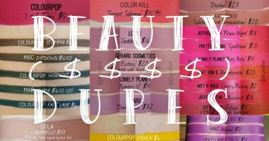 DupeThat Makeup Comparison with Prices feat
