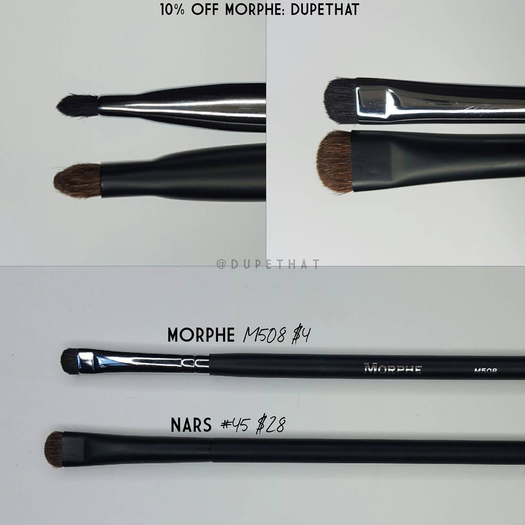 Nars Dupe Brushes from Morphe