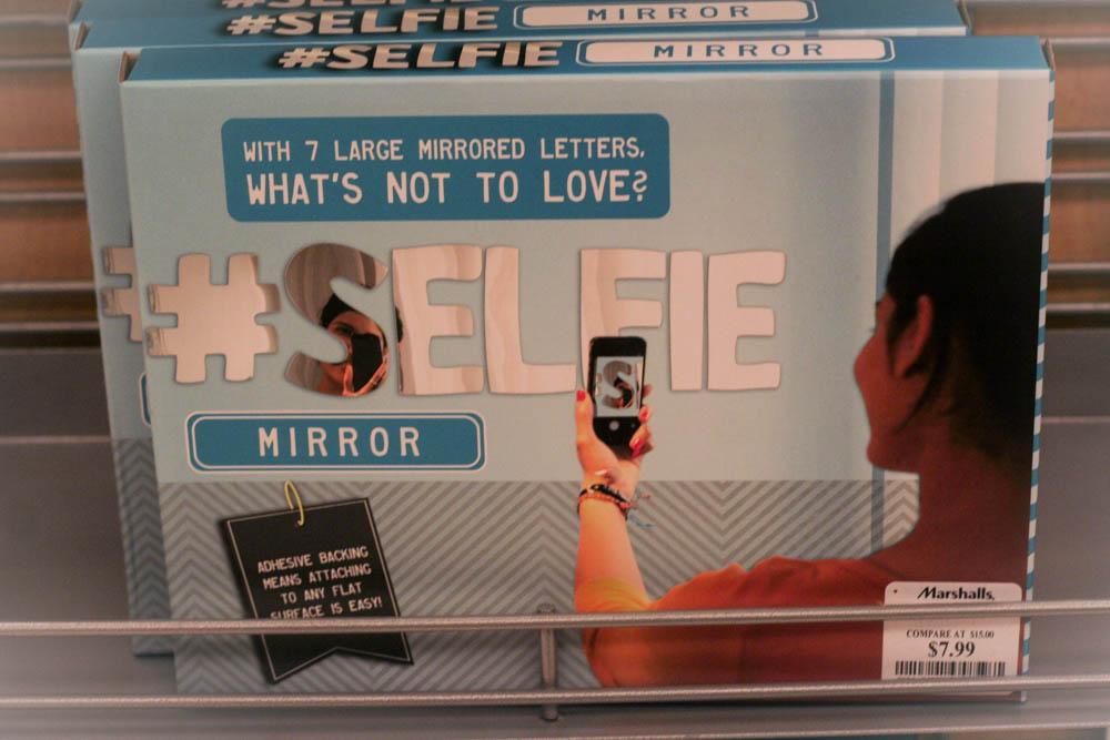 Selfie Mirror at Marshalls
