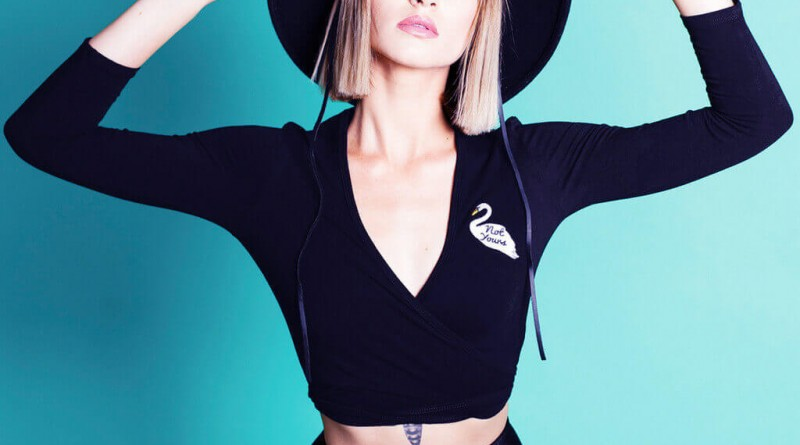 Valfre Not Yours Ballerina Wrap Top