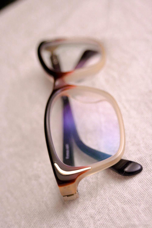 rose gold retro glasses