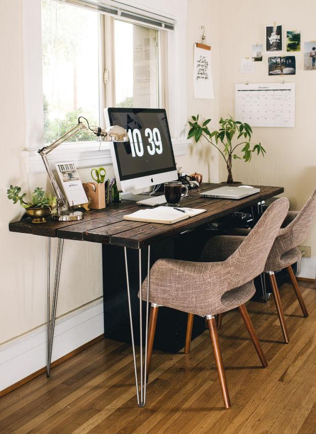 Cute Office Desk Interior Design