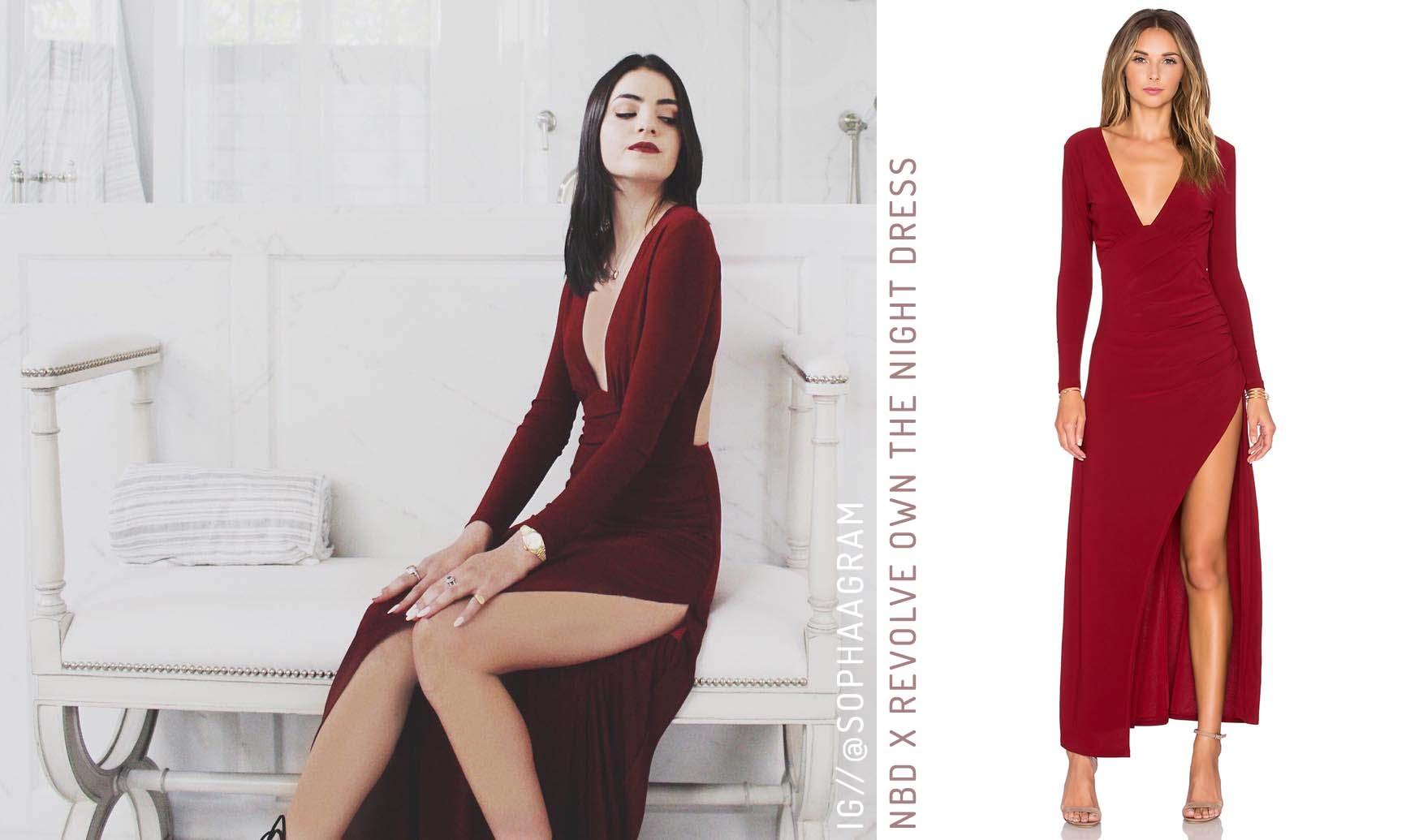 NBD X Revolve Own The Night Dress